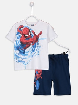 Spiderman T-shirt och shorts