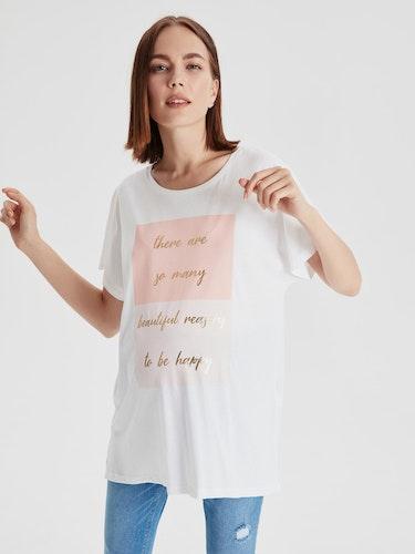 MAMA T-shirt med tryck