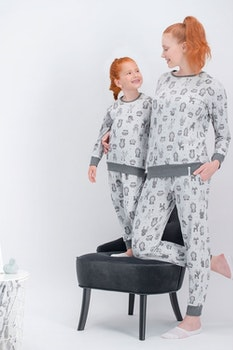 Mamma dotter pyjama
