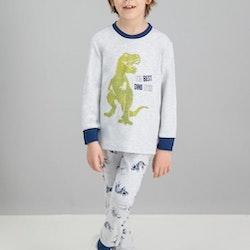 Pyjamas i bomullstrikå