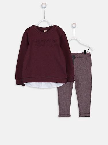 Sweatshirt och byxa