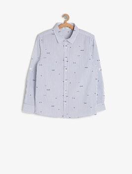 Skjorta med tryck