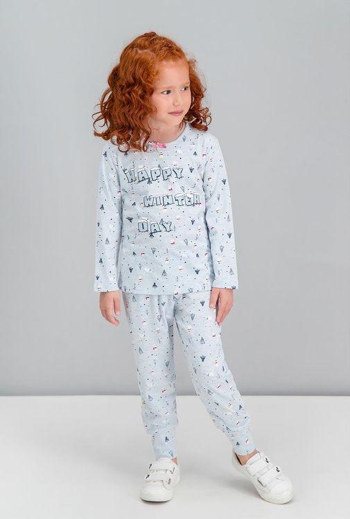 Mönstrad pyjamas