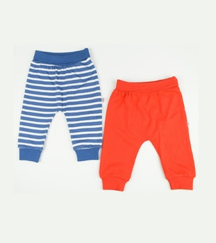 2-pack joggers i bomull