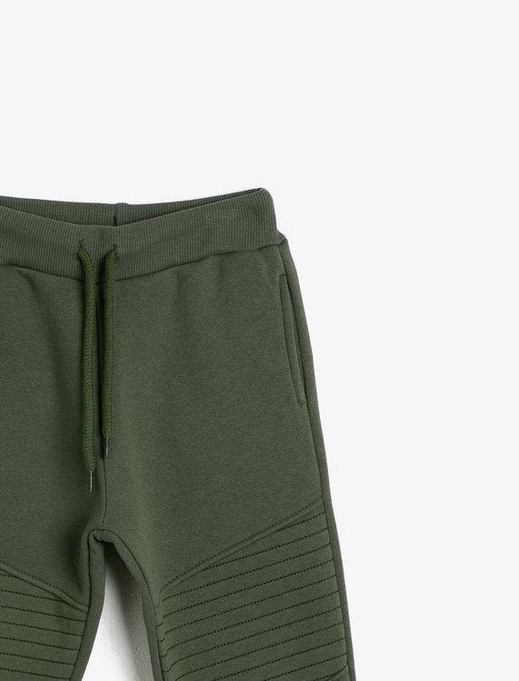 Sweatpants med förstärkt knä