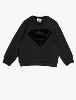 Sweatshirt i bomullsmix