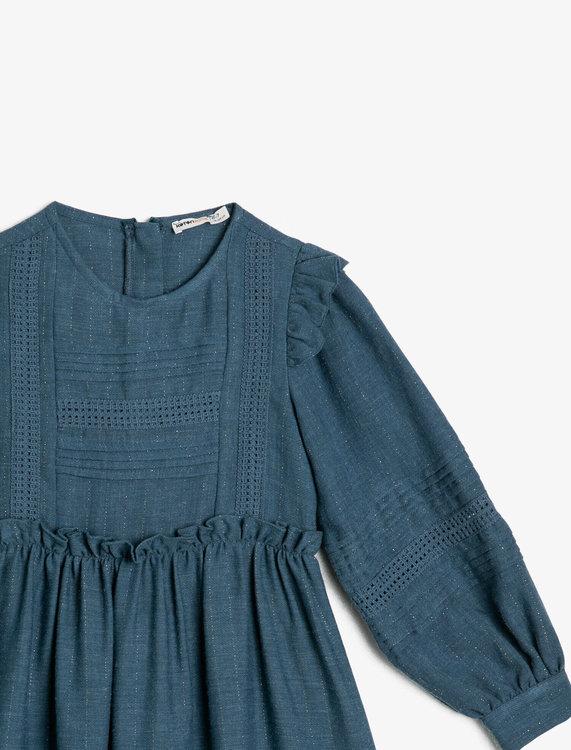 Viskosklänning