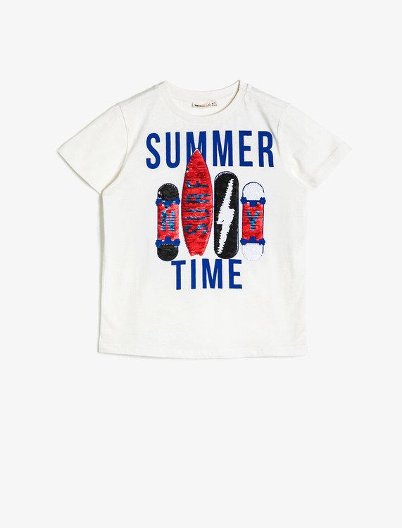 T shirt med tryck Moms & Kids Store
