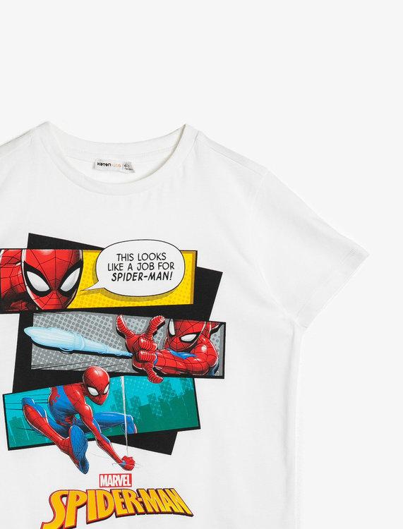 T shirt med tryck Spiderman Moms & Kids Store