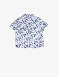Mönstrad bomullsskjorta