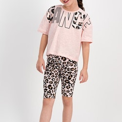 Pyjamas med tryck 1
