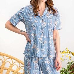 Pyjamas med skjorta och byxa