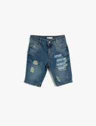 Jeansshorts Slim Fit