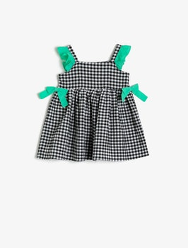 Hängselklänning