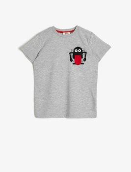 T-shirt med tryck