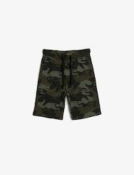 Mönstrade shorts