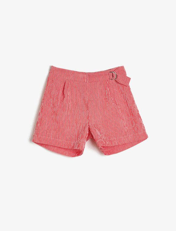 Shorts med knytskärp