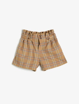 Shorts med hög midja