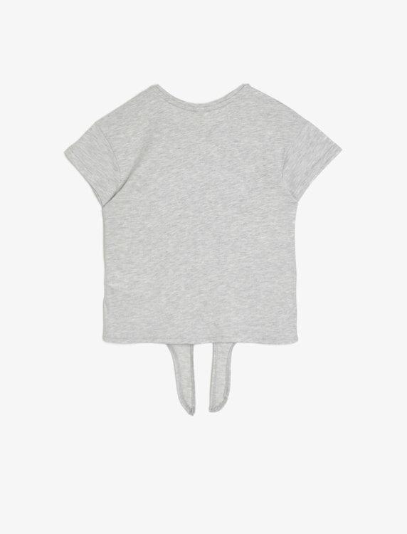 T-shirt med interaktivt motiv