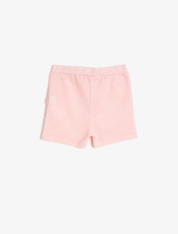 Shorts med volanger