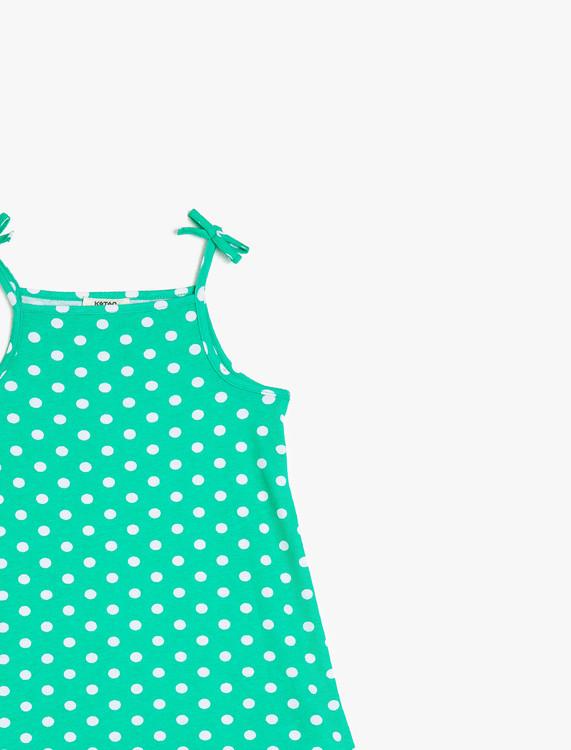 Mönstrad klänning