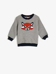 Sweatshirt i bomuulsmix