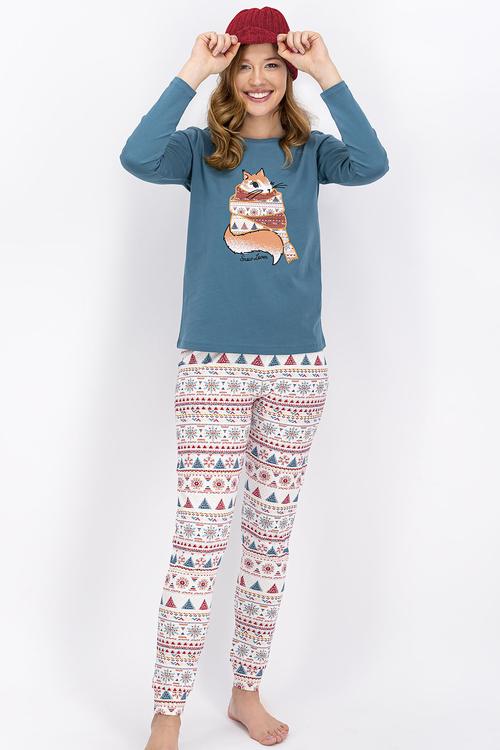 Pyjamas i bomull
