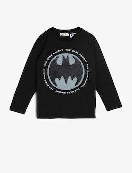 Batman topp med vändbara paljetter
