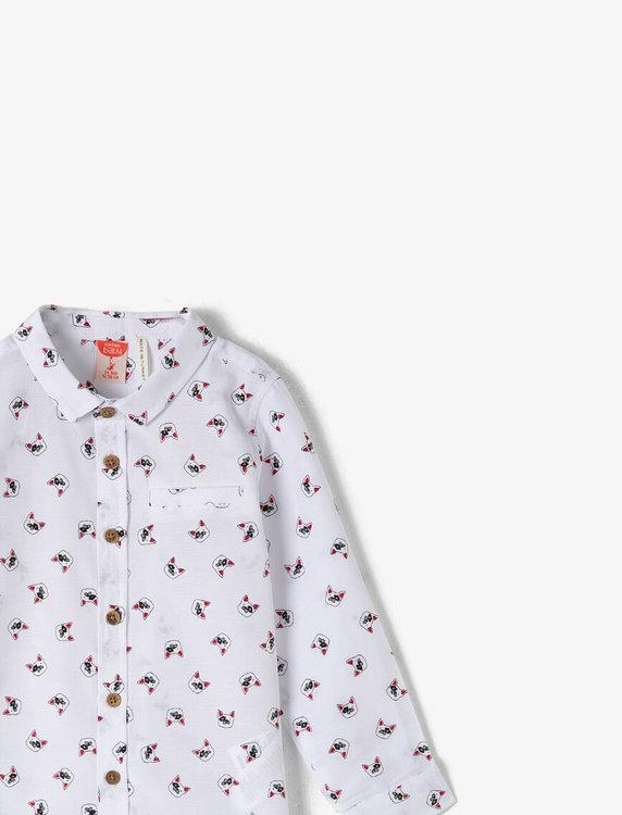 Mönstrad skjorta