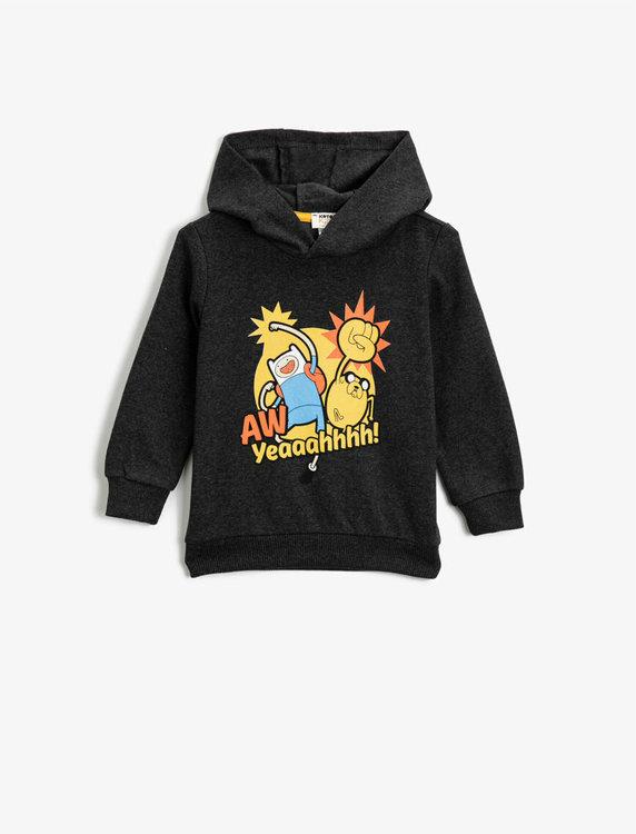 Adventure Time Huvtröja i bomullsmix