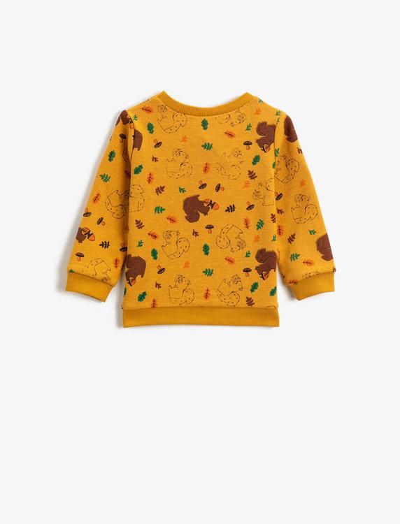 Mönstrad  sweatshirt