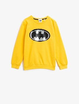 Batman Sweatshirt med vändbara paljetter