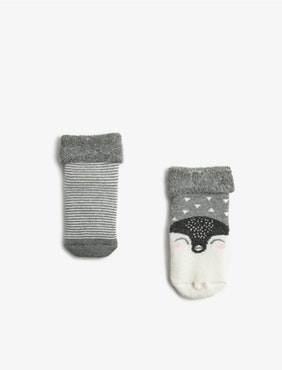 2-pack antislip-strumpor