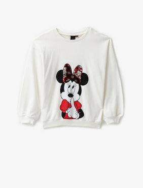 Minnie Mouse Sweatshirt med vändbara paljetter