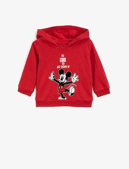 Mickey Mouse Huvtröja i bomull