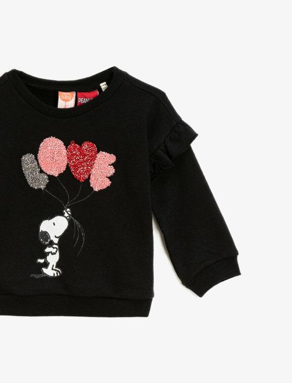 Snoopy Sweatshirt i bomull
