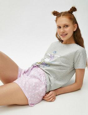 Daisy duck Pyjamas med topp och shorts