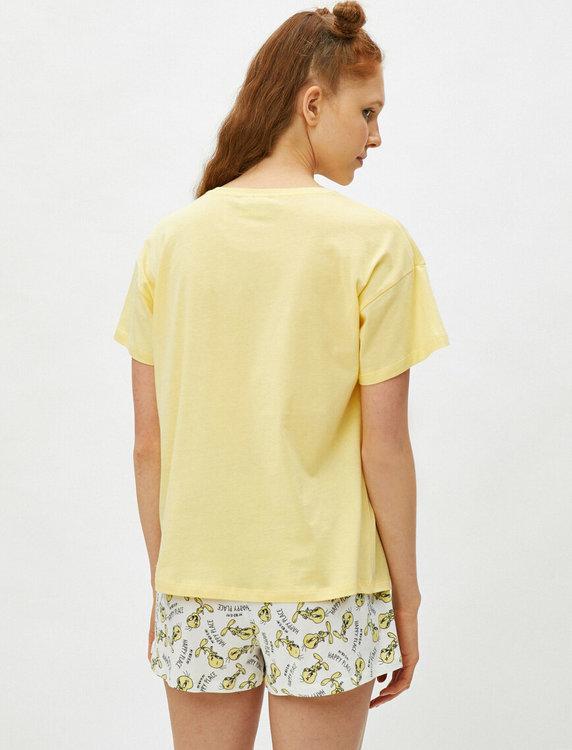 Tweety Pyjamas med topp och shorts