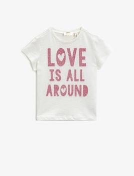 T-shirt med motiv