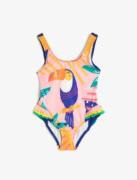 Swimsuit with print