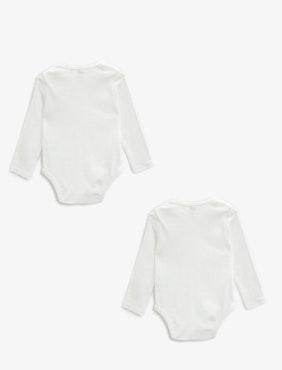 2-pack long-sleeved body