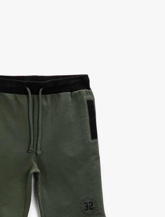 Shorts i bomullsmix