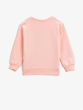 Unicorn Sweatshirt med tryck