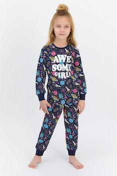 Pyjamas med tryck