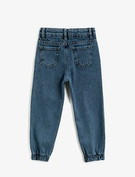 Relaxed Fit High Jeans
