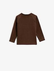 Sweatshirt i bomull