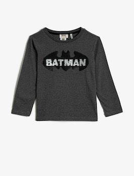 Batman Top med vändbara paljetter