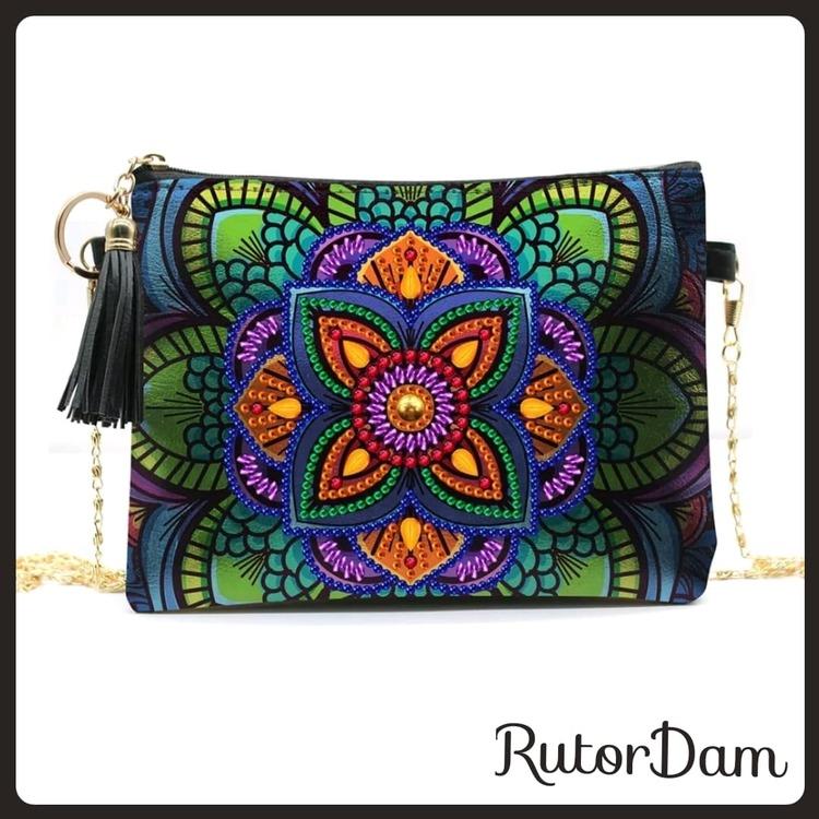 Väska, Mandala RutorDam Hobby