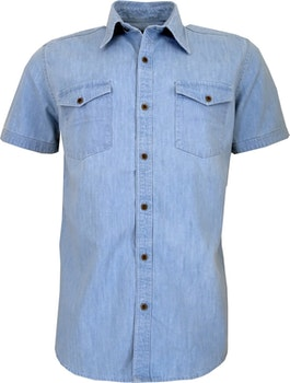 Cool Blue Jeans skjorta kort ärm.