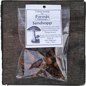 Torkad svamp- Sandsopp